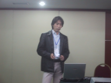 Human SCINT Session in CODATA06 - 3